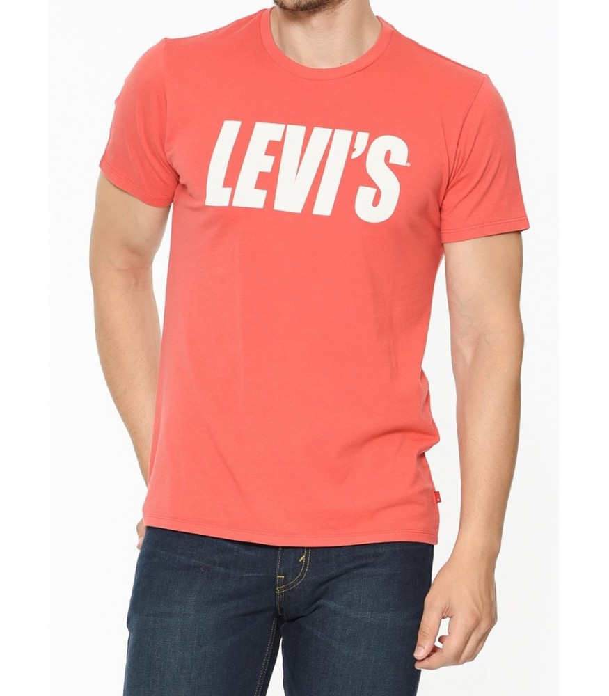 Levis Erkek T-shirt Graphic Set-In Neck 2 -22491-0412